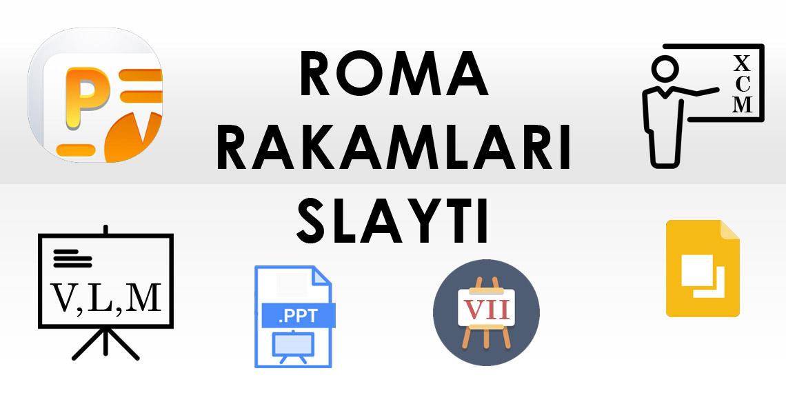 Roma Rakamları Slayt
