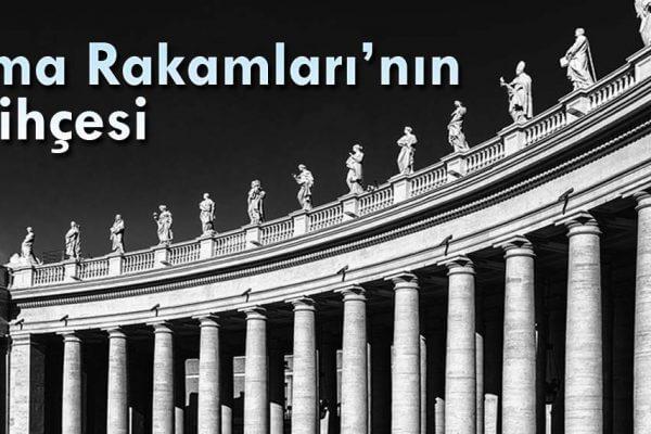 Romen Rakamlarının Tarihi