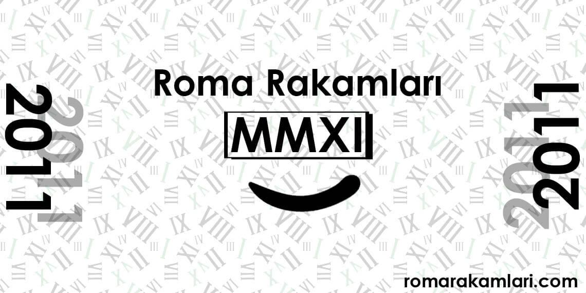 Romen Rakamları MMXI
